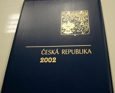 ROČNÍKOVÉ ALBUM 2002 - ČERNOTISK PTR 10, BEZ ZNÁMEK (T9870)