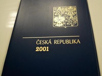 ROČNÍKOVÉ ALBUM 2001 - ČERNOTISK PTR 9, BEZ ZNÁMEK (T9871)