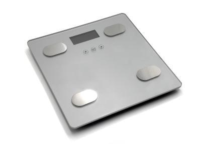 Koupelnová analytická digitální váha LCD 180kg 7 funkcí GH03012