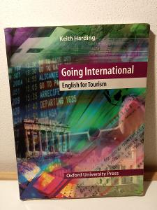 Kniha, učebnice  - Going International English for Tourism