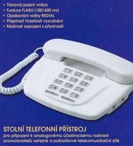 analogový telefon