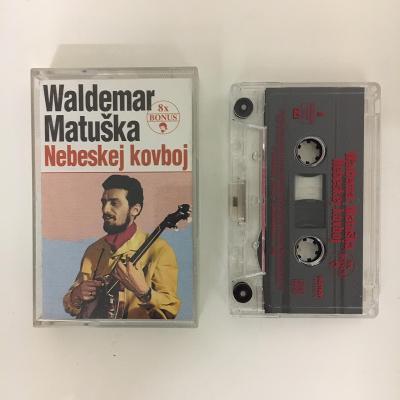 MC Waldemar Matuška – Nebeskej Kovboj audio kazeta
