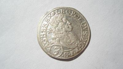 Leopold I. 3 krejcar 1670
