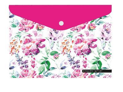 Psaníčko složka s drukem A4 s tiskem Romantic Nature Květina