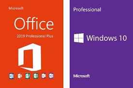 OFFICE 2019 PRO PLUS + WINDOWS 10 PRO