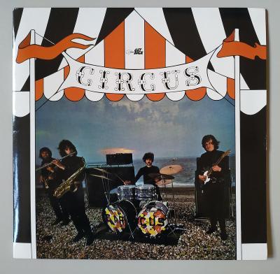 LP CIRCUS - CIRCUS (1969) vyd. GetBack ITALY 1999. NM! SUPER STAV!