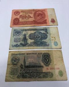 Sovětské Rubly z roku 1961