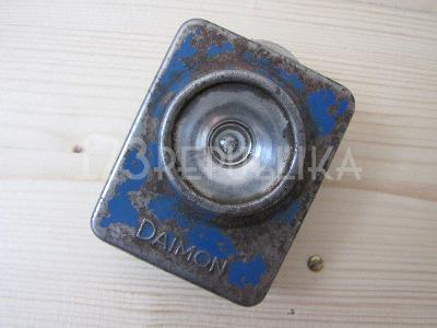 Stará miniaturní svítilna baterka Daimon 30. léta