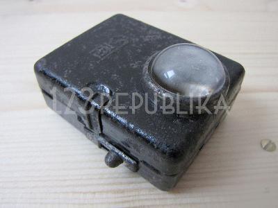 Stará miniaturní svítilna baterka Sila 30. léta