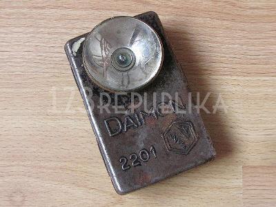 Stará svítilna baterka Daimon 2201 WH LS 40. léta