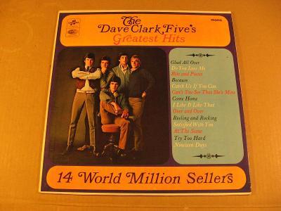 The Dave Clark Five´s GREATEST HITS 1966 LP Columbia India mono