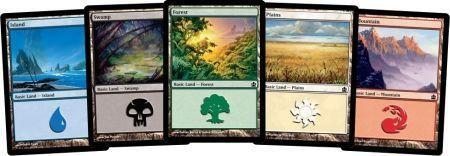 MTG mix 500 karet (basic lands)