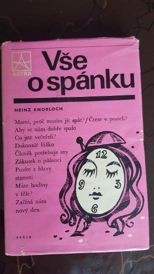 Kniha Vše o spánku - Heinz Knobloch