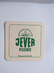 Staré pivní tácky - JEVER, Pilsener, Německo