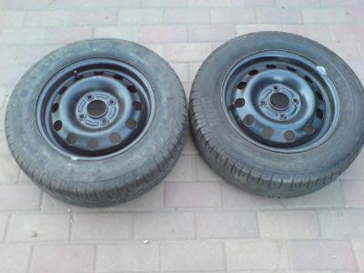 Letní pneu, 185/65/14, Pirelli P6000 + Disk Ford