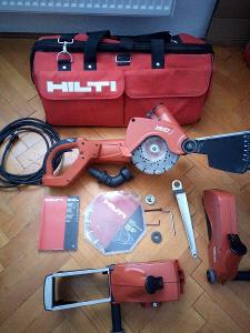 HILTI diamantový řezač DCH 230 DLX 230V-dražkovačka,použitý minimálně