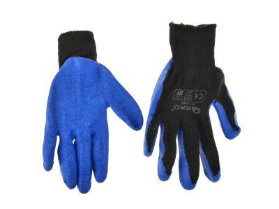 Ochranné pracovní rukavice 12ks vel. 9 zateplené G73596