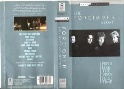VHS FOREIGNER - FEELS LIKE THE VERY FIRST TIME