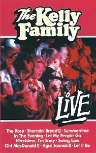 VHS KELLY FAMILY - LIVE