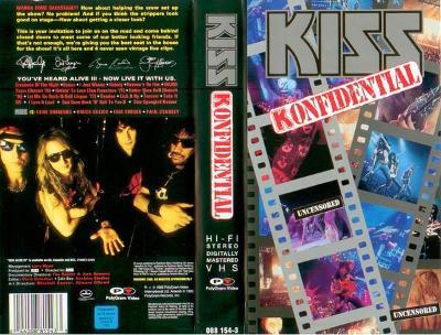 VHS KISS - KONFIDENTAL