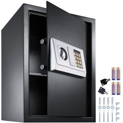 tectake 400566 digitální trezor m2 - černá