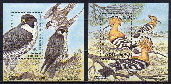 Eritrea-Ptáci 1998**  Michel Bl.7-8 / 12 €