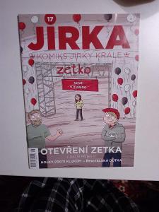 Komiks, Jirka Král, č. 17, top stav