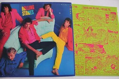 Rolling Stones – Dirty Work LP 1986 vinyl 1.press super stav NM