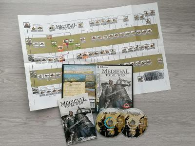 Medieval: Total War + plánek legendární PC hra