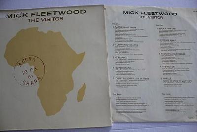 Mick Fleetwood – The Visitor LP 1981 vinyl 1.press super stav NM