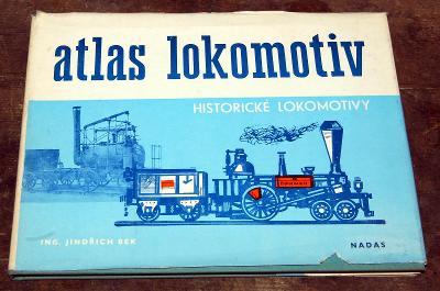 ATLAS LOKOMOTIV HISTORICKÉ LOKOMOTIVY PARNÍ Bek NADAS 1979 VLAK ČSD