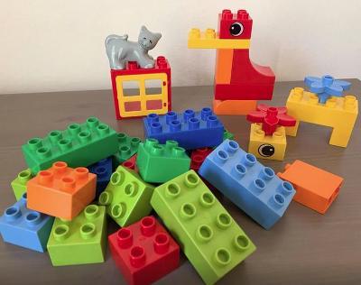 Lego Duplo 5416 - Set kostek - kočka