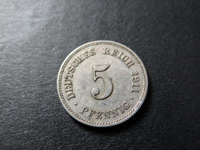 5 Pfennig 1911 E