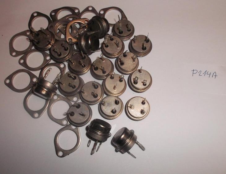 Tranzistor P214A (Germánium PNP) (NOS) - Starožitnosti