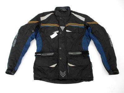 "Textilní bunda ""CYCLE SPIRIT"" vel. S/48, chrániče, odep.termovložka"