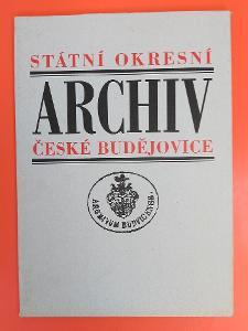 Státní okresní archiv České Budějovice
