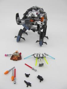 Lego set 75040 Star Wars MOTORKA GENERÁLA GRIEVOUSE p.c. 1700.-