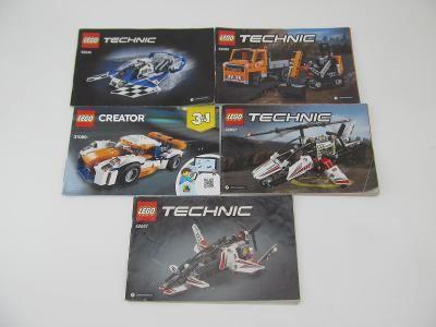 NÁVOD LEGO Technic Creator 5 ks
