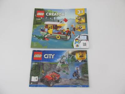 NÁVOD LEGO Creator city  2 ks