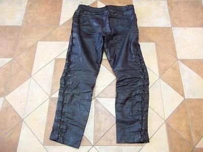Kožené kalhoty na motorku
