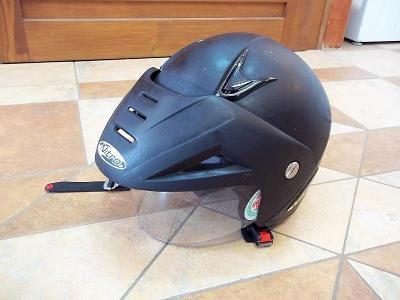 Přilba helma na motorku NITRO racing