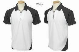 Golf polo Cooltex PGA Tour bílá-tm.šedá, bordo červené, nové - SLEVA