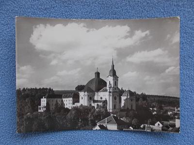 Brno venkov Křtiny poutní místo chrám kostel