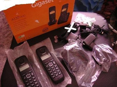 Domácí bezdrátový telefon Siemens Gigaset A120 duo