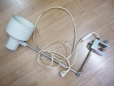 Retro STOLNÍ LAMPA - LAMPIČKA (top stav - funkční)