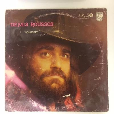 LP vinyl Démis Roussos – Souvenirs