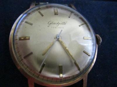 GLASHUTTE pánské náramkové hodinky