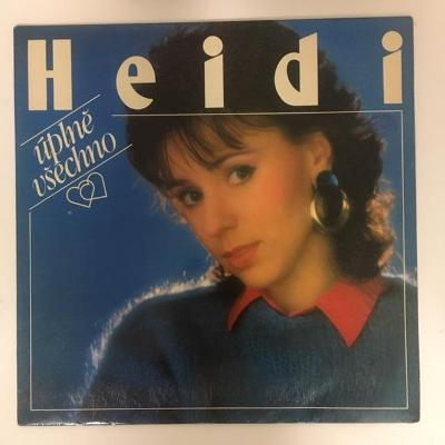 LP vinyl Heidi – Úplně Všechno