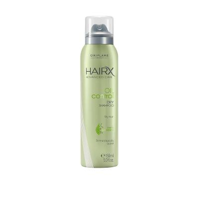 Suchý šampon na mastné vlasy HairX Advanced Care