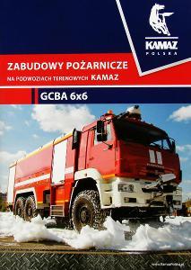 Kamaz Hasičské auto prospekt 2018 PL nákladní